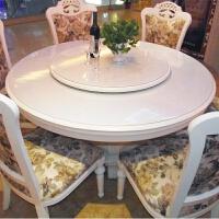 圆形软玻璃台布透明pvc水晶板大圆桌桌布防水防油防烫餐桌垫胶垫