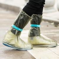 春夏防雨防水鞋套 男女中高筒雨靴套加厚防滑儿童雨鞋套百货