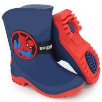 迪士尼儿童雨鞋男童女童防滑雨靴中大童水鞋宝宝水靴漫威小童胶鞋