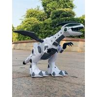 男孩儿童恐龙玩具仿真动物电动机械霸王龙喷雾遥控机器人