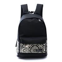 2016时尚双肩包男女学院风潮流女包帆布高中学生书包电脑旅游大包