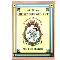英文原版 Chicken Soup with Rice 鸡汤米饭 小开本 手掌大小