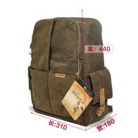 双肩摄影包 佳能尼康多功能相机包 户外旅行电脑单反背包 褐色 国家地理5270同款