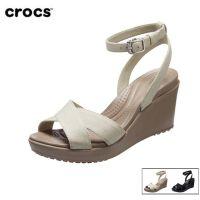 Crocs卡骆驰 女凉鞋 蕾丽坡跟二代厚底休闲女高跟鞋 204950 蕾丽坡跟二代