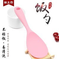 新款德国硅胶饭勺耐高温家用厨房烹饪用具不粘米饭铲子不伤锅