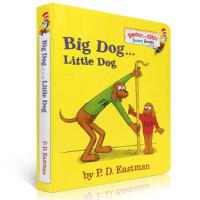 【顺丰速运】英文进口原版 Big Dog Little Dog 低幼适龄版纸板书 P.D. Eastman Brigh