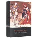 亚瑟王之死2 英文原版奇幻小说 Le Morte d'Arthur Volume 2亚瑟王与圆桌骑士传奇 Pengui