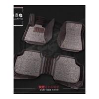 2017款上海大众朗逸脚垫专用全大包围丝圈汽车脚垫地毯改装装饰
