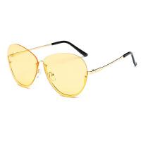 装饰眼镜框女韩版复古半框眼镜架透明个性潮平光镜男大框眼镜xx