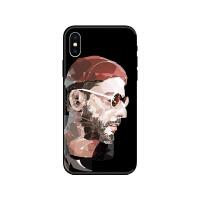 欧美这个杀手不太冷iphone7手机壳苹果6plus情侣浮雕8/Xsmax软套 iPhoneXS 杀手男黑壳