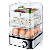 三层自动断电煮蛋器电蒸笼蒸锅消毒器早餐机蒸蛋器