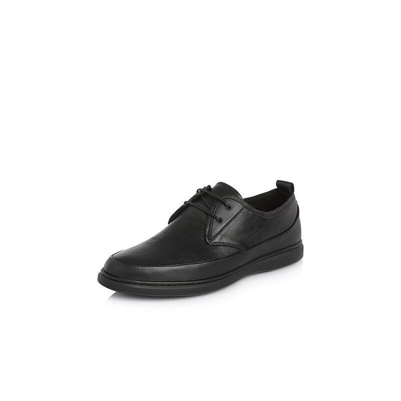 Belle/百丽2018春季新品专柜同款牛皮革男休闲鞋5QT01AM8