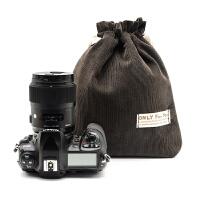 加厚布袋 防撞单反内胆包 拍立得相机袋 索尼微单相机收纳包