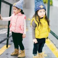 【清仓不退换】女棉马甲秋冬装潮儿童冬款背心女宝宝加厚坎肩外套