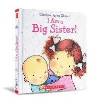 英文原版 I Am a Big Sister! 我是个大姐姐 精装纸板书[1-5岁]