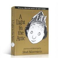【全店300减100】英文原版A Light in the Attic 阁楼上的光儿童诗词诗歌绘本 Shel Silve