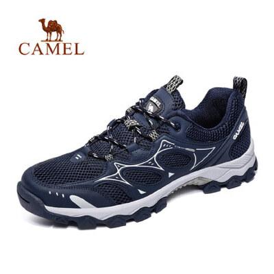 camel 骆驼户外男女徒步鞋 休闲透气低帮系带情侣鞋