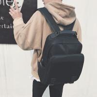 男生双肩包初高中大学生书包男时尚潮流电脑背包日韩休闲旅行包