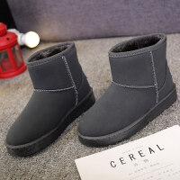 女士雪地靴厚底百搭女靴保暖学生靴时尚短靴加绒短筒靴潮