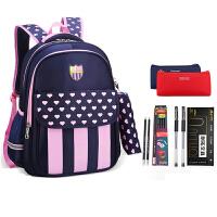 儿童双肩背包韩版书包小学生男女1-3-5一年级6-12周岁
