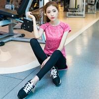 【支持礼品卡】瑜伽服女夏天时尚跑步健身套装专业高端瑜珈健身房运动套装女 ke7