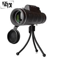 征伐 单筒望远镜 户外高倍高清带指南针大目镜夜视微光演唱会拍照望眼镜非红视带指南针观鸟镜