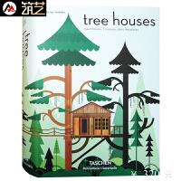 tree Houses 542页 创意树屋设计 创意度假村 别墅 酒店 建筑室内设计书籍