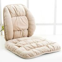 坐垫靠垫一体冬季保暖椅子垫泡泡垫单片办公室学生座垫汽车