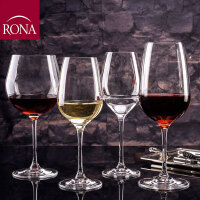 RONA 洛娜原装进口无铅水晶玻璃普雷斯高脚杯 红酒杯 葡萄酒杯 香槟杯 4种容量 1只装