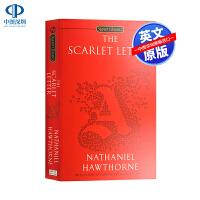 英文原版 红字 The Scarlet Letter 英语阅读 世界名著 诺贝尔文学奖 霍桑 Hawthorne 浪漫主