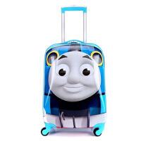 儿童旅行箱万向轮拉杆箱18英寸男女行李箱卡通登机箱密码箱包 男女