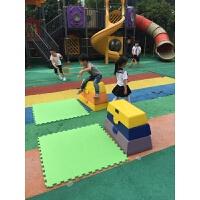 幼儿园体育运动健身玩具儿童塑料跳箱 感统训练体能器材 软体跳马