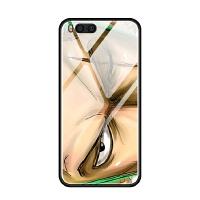 小米note3 6 5 5x 5s plus蓝光玻璃手机壳硅胶索隆动漫瞳眼睛潮