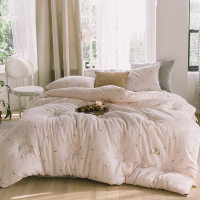棉被冬季纯棉花被纯棉双层纱全棉冬被新疆棉花填充被芯加厚单人双人冬季被子