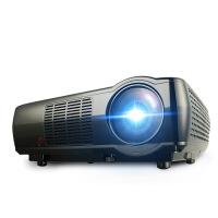 ???奥普达新款LED02投影仪家用办公投影机高清1080P无线wifi智能手机投影仪苹果安卓小型投 黑色
