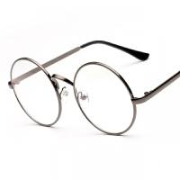 2018年新款架男潮防护目辐射眼镜女圆形复古眼镜框无度数眼睛圆框平面镜韩版眼镜