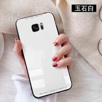 三星Galaxy S7手机壳SM-G9300简约3星s7玻璃G93OO保护套S7全包边s7g9308