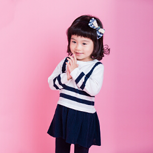 女童连衣裙夏装2018新款儿童裙子小女孩公主裙洋气衣服女小童针织裙