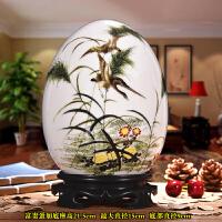 景德镇陶瓷花瓶摆件客厅装饰品摆设中式家居新房装饰品酒柜摆件