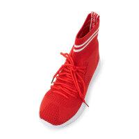 【1件4折到手价:95.6】美特斯邦威运动鞋女2019春季新款百搭袜靴马丁靴短靴女鞋子女靴子