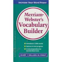 【旧书二手书8成新】Merriam Webster's Vocabulary Builder 韦氏词汇组成 英文原版