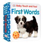 【顺丰速运】英文原版DK儿童触摸书 DK Baby Touch and Feel First Words 早教触摸绘本