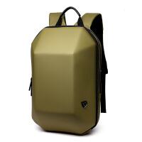 香港防盗双肩包男硬壳背包男创意书包电脑包休闲旅行包防水包