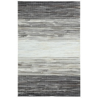 牛皮拼接地毯定制北欧式几何客厅沙发茶几垫长方形卧室床边毯