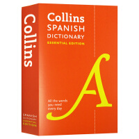 柯林斯西班牙语词典 英文原版 Collins Spanish Essential Dictionary 西班牙语英语双