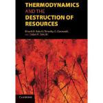 【预订】Thermodynamics and the Destruction of Resources Y978110