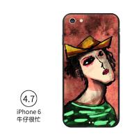 iphone7手机壳苹果6splus挂绳8plus欧美个性潮牌6p创意情侣女