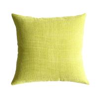 沙发抱枕套不含芯家用正方形纯色抱枕靠垫床头大靠背客厅飘窗靠垫