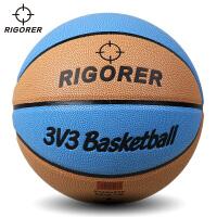 准者定制款3V3篮球 硬地吸湿耐磨7号l篮球 室内室外通用lanqiu