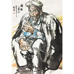 刘文西《耕耘一辈子》著名画家
